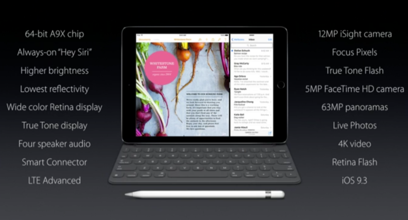 """Oppsummering av iPad Pro 9.7"""""""